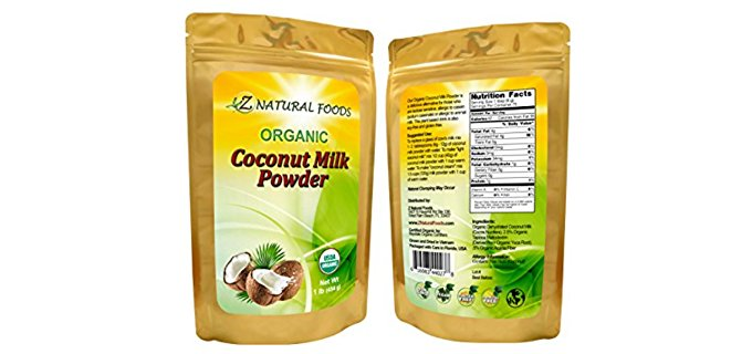 Z Natural Foods Powder - Organic Coconut Milk Creamer