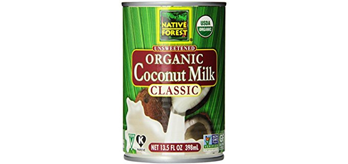 Native Forest Classic - Unsweetened Creamy Organic Coconut Milk