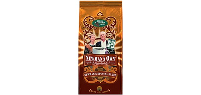 Newman's Own Special Blend - Medium Dark Roast Decaf Organic Coffee
