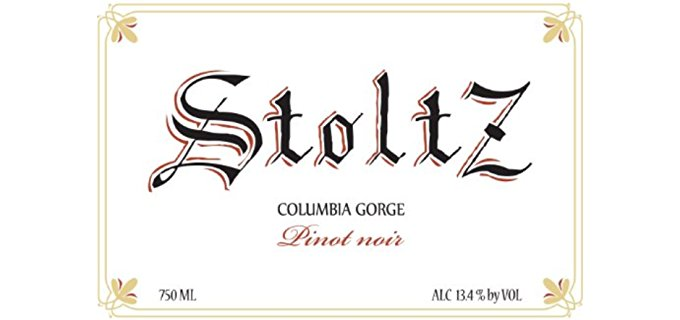 Stoltz Vineyards and Winery Organic Pinot Noir Wine - Very Mature Organic Red Pinot Noir