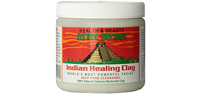 Aztec Secret Bentonite Clay - Ancient Mayan Anti Aging Skin Care Remedy