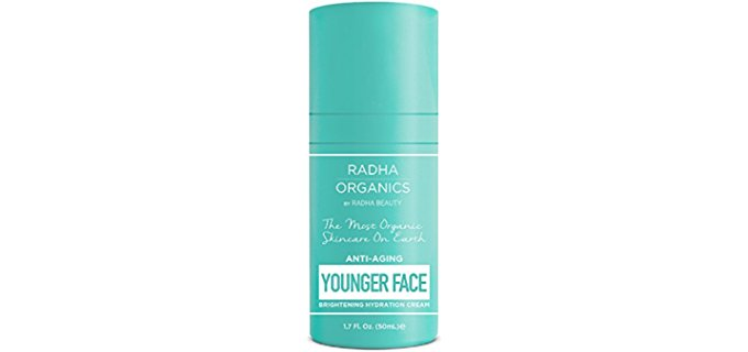 Radha Organics Rehydrating Skin Cream - All Natural Anti Aging Skin Care Cream