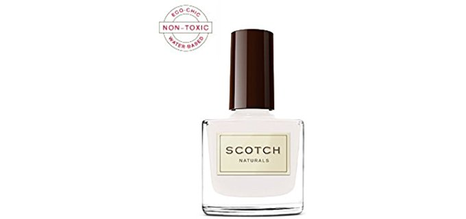 Scotch Naturals Base Coat Nail Polish - Completely Non-Toxic Base Coat for Nails