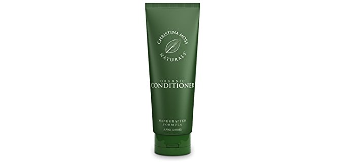 Christina Moss Naturals 100% Organic Conditioner - Completely Natural Leave In Conditioner