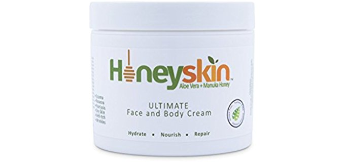 Honeyskin Organics Ultimate Moisturizer - Organic Facial and Bodily Moisturizer