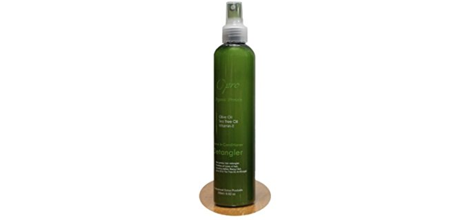 O'Pro Organic Leave In Conditioner - Organic Conditioner for Detangling Knotted Hair