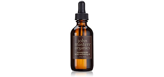 John Masters Pure Organic Pomegranate Facial Oil - Top Quality Organic Infusion Facial Oil