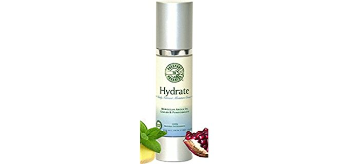 Passport to Organics Antioxidant-Rich Face Cream - Rooibos Pomegranate Infused Natural Face Cream