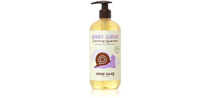 Little Twig Lavender Baby Wash - All Natural Lemon Lavender Baby Wash