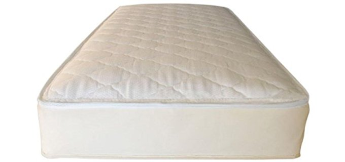 Naturepedic Pure Organic Cotton Mattress - Cotton Stuffed Innerspring Organic Latex Mattress
