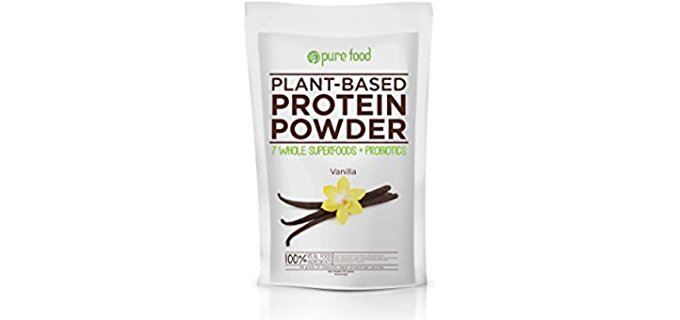Pure Food Superfood Protein Powder - Organic Vegan Superfood Protein Powder