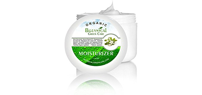 Botanical Green Care Moisturizing Skin Cream - Anti-Aging Wrinkle-Proof Dry Skin Care Moisturizer