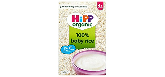 Hipp Interactive Organic Baby Rice Cereal - Soft Organic Baby Rice Cereal
