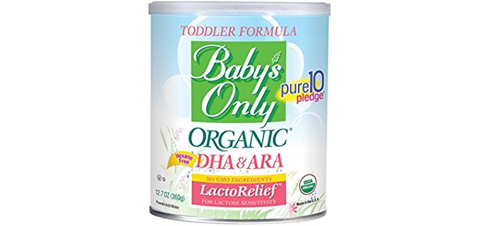 Baby's Only Lactose Free Formula - Organic Formula for Sensitive Infants
