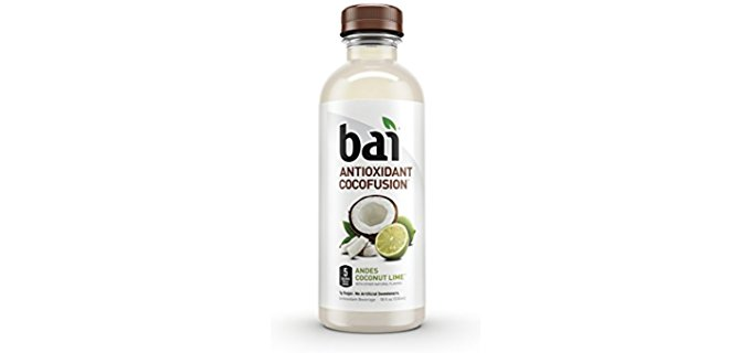 Bai Organic Coconut Water Infusion - Ultimate Antioxidant Coconut Water Drink