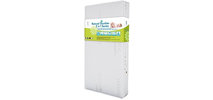 LA Baby Soy Foam Mattress - Dual Sided Organic Soy Foam Baby Mattress