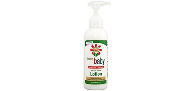 Lafe's Organic Baby Lotion - Odorless Organic Olive Hemp Baby Lotion