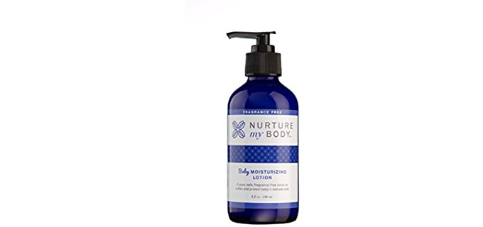 Nurture My Body Organic Baby Lotion - Rich Organic Baby Lotion For All Ages