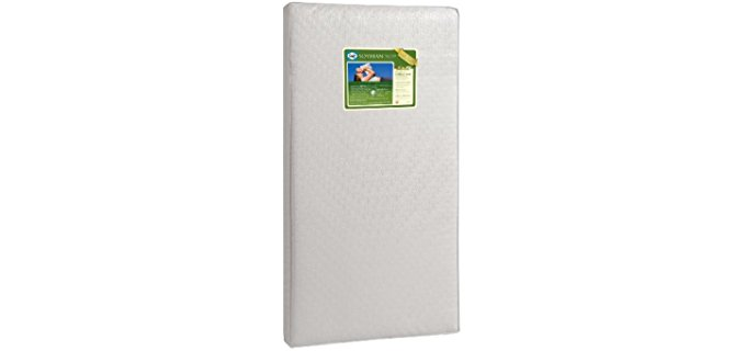 Sealy Soybean Foam-Core Crib Mattress - Organic Waterproof Soybean Baby Mattress