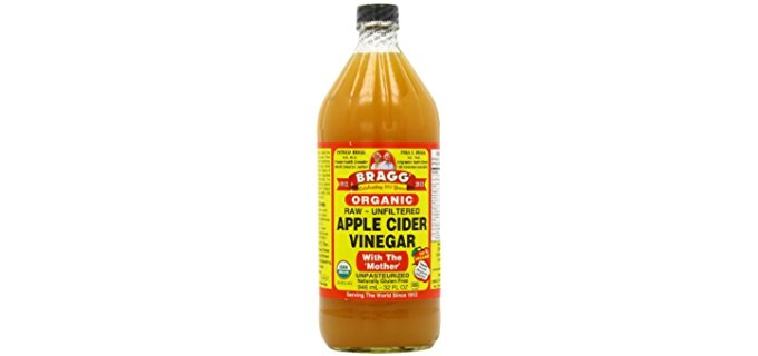 Bragg Organic Apple Cider Vinegar - Raw Unfiltered Organic Apple Cider Vinegar