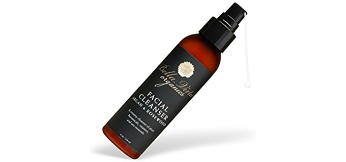 Bella Virtu Organics Facial Cleanser - 100% Organic Anti-Aging Facial Cleanser