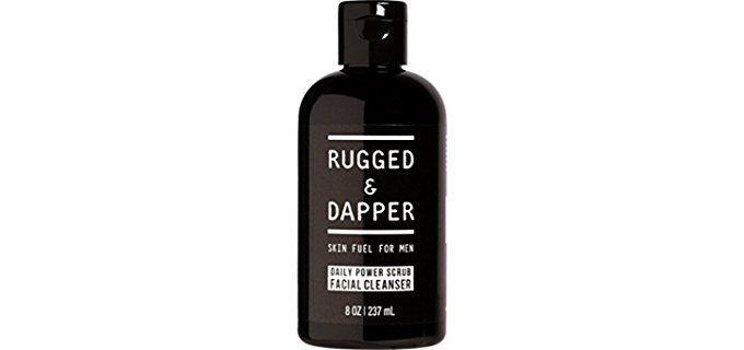 Rugged & Dapper Organic Face Wash - Organic Tea Tree Face Wash for Men