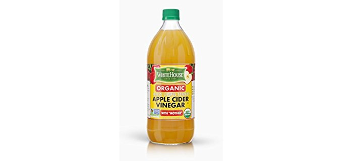 White House Raw Apple Cider Vinegar - Organic Apple Cider Vinegar with Mother