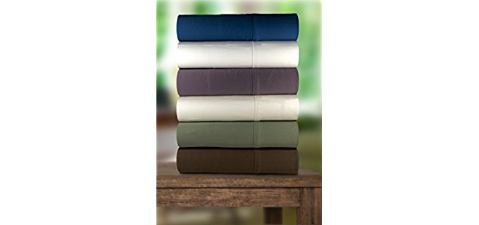 Magnolia Organics Organic Cotton Sheets - Two 100% Pure Organic Cotton Sheets