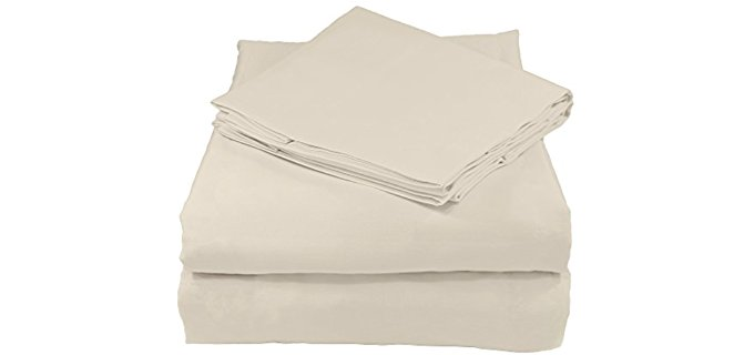 Whisper Organics Organic Cotton Sheets - Full Organic Cotton Sheet Set