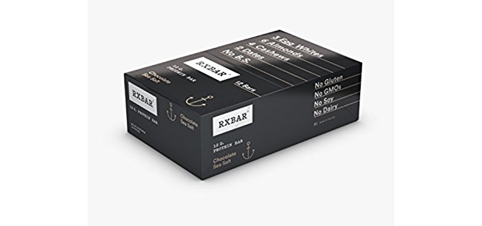 RXBAR Organic Protein Bars - Organic Chocolate Nut Based Protein Bars