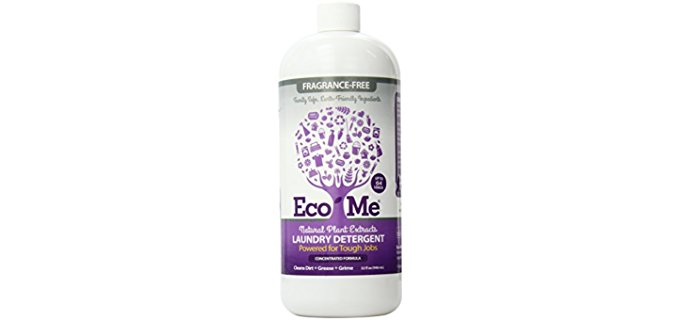Eco-Me Organic Laundry Detergent - Natural laundry Detergent From Plant Extracts