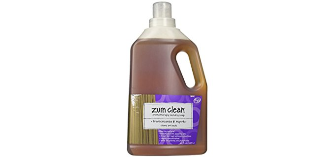 Indigo Wild Zum Clean Laundry Soap - Concentrated Organic Liquid Laundry Soap