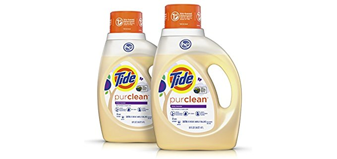 Tide Purclean Formula - Eco Savvy Bio Based Laundry Detergent