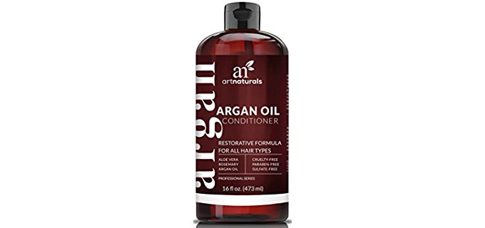 ArtNaturals Organic Argan Conditioner - Organic Conditioner for Hair Restoration