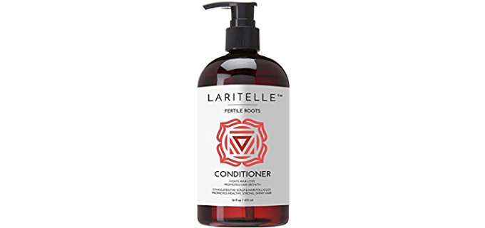 Laritellle Fortifying Organic Conditioner - Organic Conditioner for Hair Growth