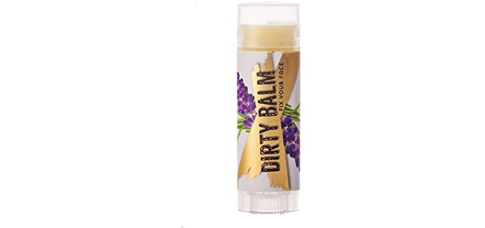 The Dirt Organic Dirty Balm - Organic Lip Balm to 'Fix Your Face'