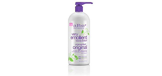 Alba Botanica 100% Vegetarian - Unscented Body Lotion