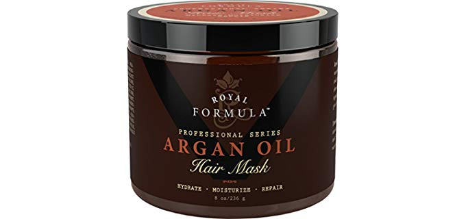 Royal Formula Argan Oil -  Organic Argan & Almond Oils Hair Mask