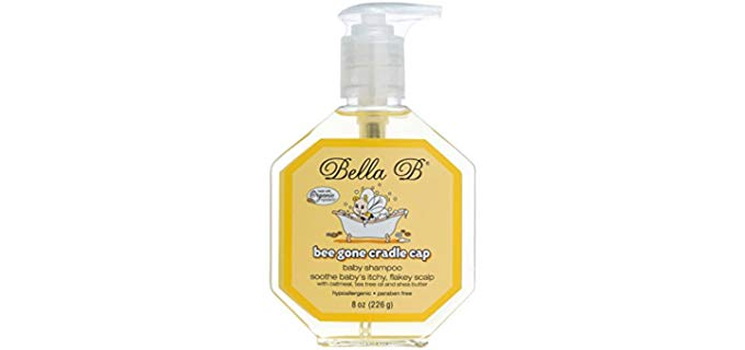 Bella B Bee Gone Cradle Cap - Organic Shampoo