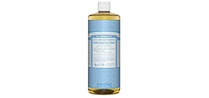 Dr. Bronner's Vegetable-based - Pure-Castile Liquid Soap
