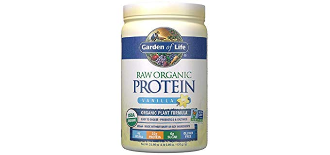 Garden of Life Raw Organic - Vanilla Protein Powder
