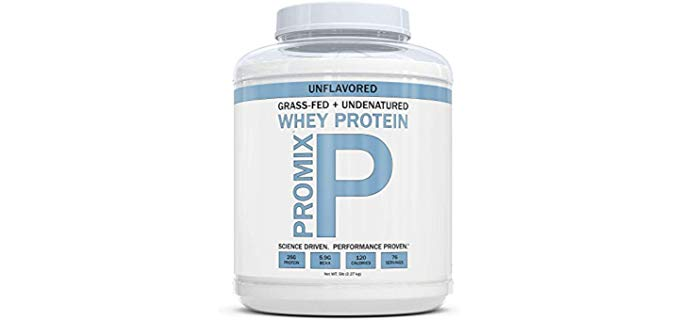 ProMix Nutrition Grass Fed - 100% Natural Whey Protein
