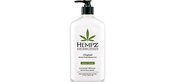 Hempz Pure Herbal - Hemp Seed Oil Moisturizer