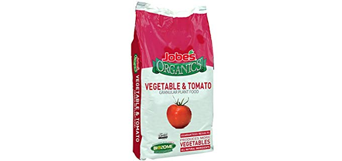 Jobes Organics Natural Fertilizer - Pure Organic Fertilizer Tomatoes and Vegetables