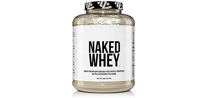 NAKED nutrition 100% Grass-Fed - Best Organic Whey Protein Powder