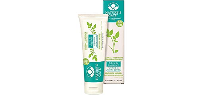Nature's Gate Natural - Vegan Non-GMO Organic Toothpaste