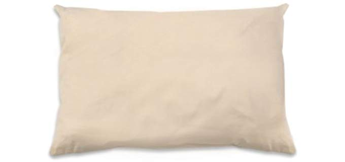 Naturepedic Cotton Kapok Pillow - Standard Size Organic Cotton Kapok Pillow