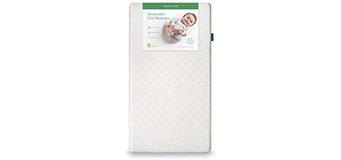 Newton Simple Organic Baby Mattress - Better Than Organic Hypoallergenic Crib Mattress