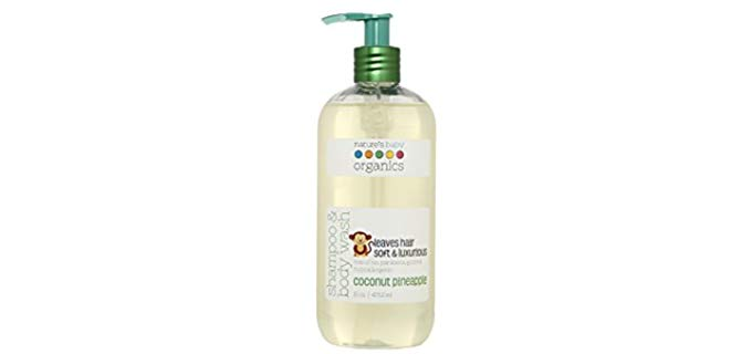 Nature's Baby Organics Moisturizing - Baby Shampoo And Body Wash