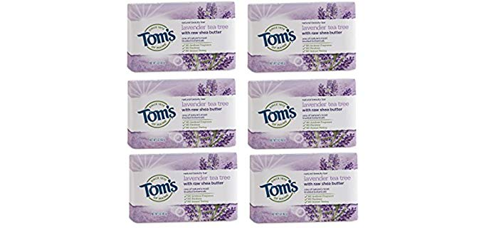 Tom's of Maine Natural - Lavender Tea Tree Beauty Bar